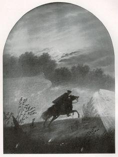 "The Highwayman: #The #Highwayman ~ ""Der Erlkonig,"" Carl Gustav Carus (1789-1869)."