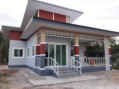 บ้านชั้นเดียว สไตล์โมเดิร์น ขนาด 3 ห้องนอน งบ 9.5 แสน Modern House Philippines, Turquoise Background, Room Decor, Wall Decor, Pool Designs, Fun To Be One, Layout Design, Design Ideas, Vintage Walls