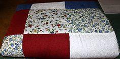 Úžitkový textil - Patchworková deka - country line - 5445229_