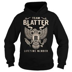 Team BLATTER Lifetime Member - Last Name, Surname T-Shirt