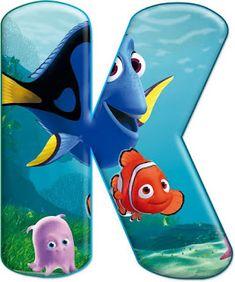 Reinforced by God: Decorative alphabet Nemo PNG Nemo Dori, Bubble Alphabet, Minnie Png, Teaching The Alphabet, Monogram Alphabet, New Classroom, Finding Nemo, Lilo And Stitch, 2nd Birthday Parties