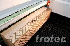 The Trotec laser cutters offer countless possibilities for laser cutting and engraving wood. ✔MDF ✔Plywood ✔Solid wood ✔Balsa wood, etc. Trotec Laser, Garden In The Woods, Wooden Garden, Custom Wood, Aluminium, Laser Engraving, Garden Decorations, Instruments, Diy