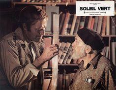 Soleil vert (1973) de Richard Fleischer Soylent Green, Critique, Hui, Science Fiction, Films, Reading, World, Sci Fi, Movies