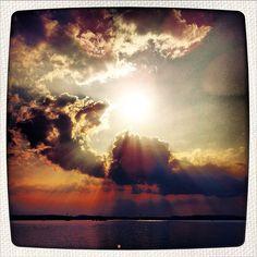 sunset | #chiemsee