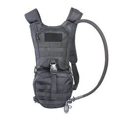 Tactical Hydration Pack Backpacks with 2.5L Bladder for Hiking Biking Running