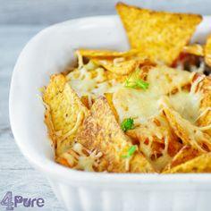 Mexican nacho cheese casserole   4Pure #recipe #4pure #casserole #cheese #mexican http://www.4pure.nl