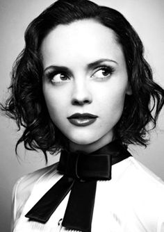 Christina Ricci - I remember her as Wednesday in the Addams Family. She grew up so much.