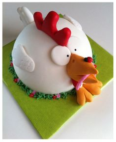 You never know...one day someone might request a chicken cake! lol