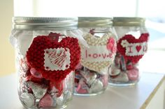 flax & twine | craft + diy: Message In A Bottle - DIY Valentines to give the Kiddos