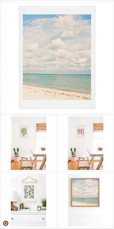Shop Target for unfr Watercolor Landscape, Watercolor Art, Poster Wall, Poster Prints, Watercolor Paintings For Beginners, Aesthetic Painting, Mural Art, Beach Art, Art Sketchbook
