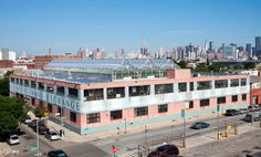 Rooftop Greenhouse and Solar Panels producing commercial grade vegetables