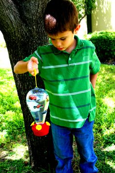 Hummingbird Feeder Kids Craft