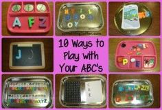 TOT SCHOOL: Tot Trays (the basics)