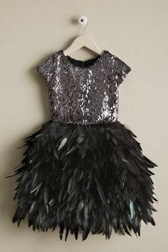 Shop Chasing Fireflies for our Girls Sequin Bodice Feather Dress. Browse our online catalog for the best in unique children& costumes, clothing and more. Little Girl Dresses, Girls Dresses, Flower Girl Dresses, Girls Holiday Dresses, Little Girl Fashion, Kids Fashion, Latest Fashion, Fashion 2016, Fashion Games