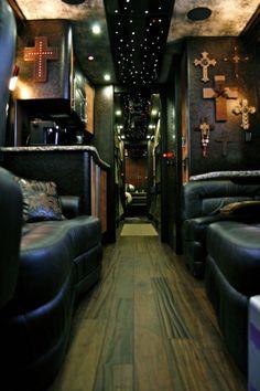 Band Tour Bus Interior | Interior – Band : Diamond Coach