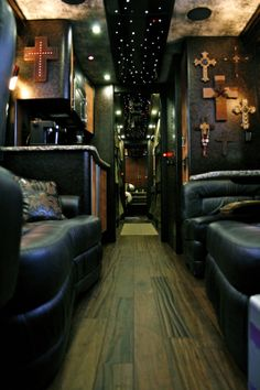 Band Tour Bus Interior | Interior – Band : Diamond Coach