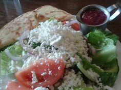 Small Greek Salad @ Walker Grill.  $5.99 plus tax