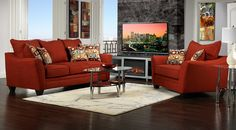 Living Room Furniture-The Sunfire Collection-Sunfire Sofa