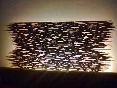Open Light Project. Montaggio in abete retroilluminato. di WoodnessDesign su Etsy