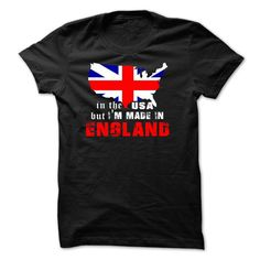 IN THE USA BUT MADE IN ENGLAND T-Shirts, Hoodies, Sweaters