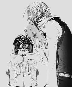 Vampire Knight - Zero and Yuki