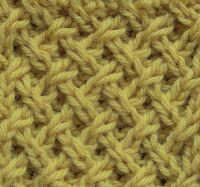 Tight Lattice Stitch | The Weekly Stitch