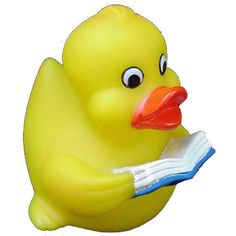Literary rubber duck