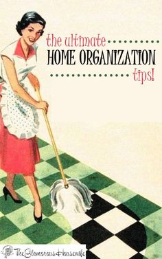 LOVE THIS BOLG are you looking for amazing home organization tips? Well look no further! Here are all of the best tips & tricks I have written about on The Glamorous Housewife. This is perfect for getting your home organized this spring! Organisation Hacks, Household Organization, Life Organization, Vintage Housewife, Housewife Humor, Another Day In Paradise, Homekeeping, Domestic Goddess, Organizing Your Home