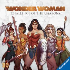 "New ""Wonder Woman"" Board Game Releases March 2020 Wonder Woman Art, Wonder Woman Comic, Superman Wonder Woman, Wonder Women, Captain Marvel, Marvel Dc, Marvel Comics, Captain America, Alex Ross Kingdom Come"