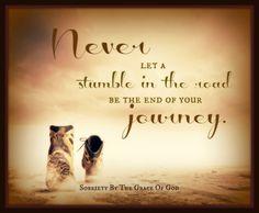 Stumble in the journey
