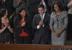 Michelle Obamas State Of The Union Dress 2015 Is Actually A Grey Michael Kors Skirt Suit