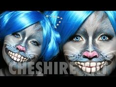 Cheshire Cat Makeup Tutorial | Alice in Wonderland