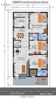 Buy 3 BHK Flat/Apartment in Diwancheruvu, Rajahmundry - 1770 Sq-ft 2bhk House Plan, Three Bedroom House Plan, Model House Plan, House Layout Plans, Duplex House Plans, Bungalow House Plans, House Layouts, Modern House Floor Plans, Simple House Plans