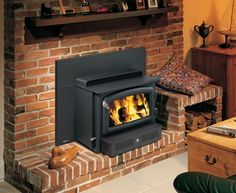 Wood Inserts   Wood burning Fireplace Inserts   Woodstove Insert Benefits