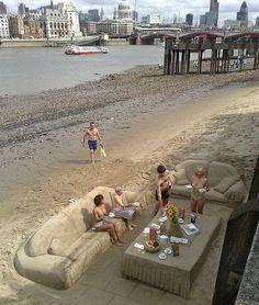 Awesome sand art!