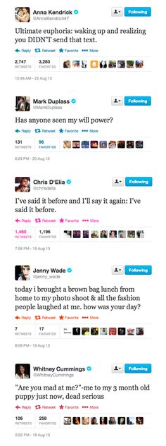Bizarre Celebrity Tweets I Still Think About - ruinmyweek.com
