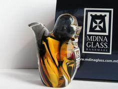 Ptaszek figurka szklana Mdina Glass Malta -19%