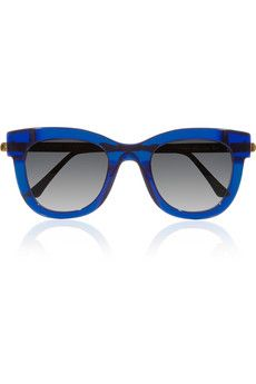 THIERRY LASRY  Sexxxy D-frame Acetate and Metal Sunglasses