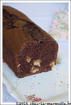 Cake au chocolat et à la noix de coco | Marmotte cuisine !