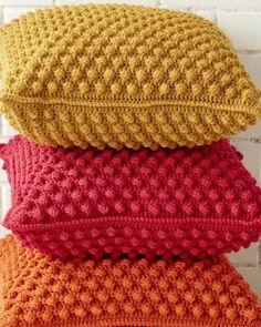 Almofada de Crochê: Passo a Passo + 38 Fotos | Revista Artesanato