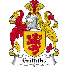 Griffiths Surname and Coat of Arms   Genealogy Ancestral Family Trees