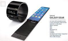 La Galaxy Gear de Samsung ne sera pas un smartphone Gadgets Électroniques, Gadgets For Dad, Techno Gadgets, New Electronic Gadgets, Phone Gadgets, Electronic Gifts, Latest Gadgets, Cool Gadgets, 2017 Gadgets