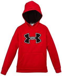Amazon.com  Under Armour Boy s Storm Armour Fleece Big Logo Hoodie  Sweatshirt  Clothing c0fce340cfa4