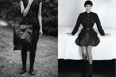 12 Throwback Prada Ads That Cannot Be Forgotten - Spring 1994 Christy Turlington photographed by Peter Lindbergh