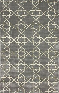 Keno Trellis ACR195 Lt Blue Rug | Contemporary Rugs