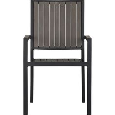 Alfresco Grey Dining Chair in Alfresco Grey | Crate and Barrel