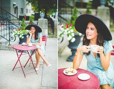 Senior Portraits with Coffee, Lissa Chandler Photography