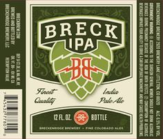mybeerbuzz.com - Bringing Good Beers & Good People Together...: Breckenridge Brewery Announces New Breck IPA
