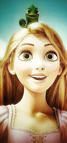 I watch Tangled whenever I'm sad for some reason. It makes me really happy.