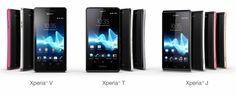 Sony Xperia T V & J
